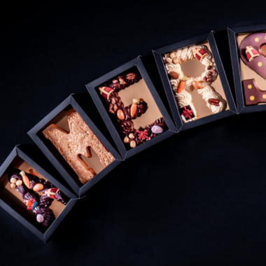 Luxe chocoladeletter